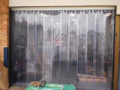Flexshield's SonicClear curtains solved Hastings Deering's contamination challenges