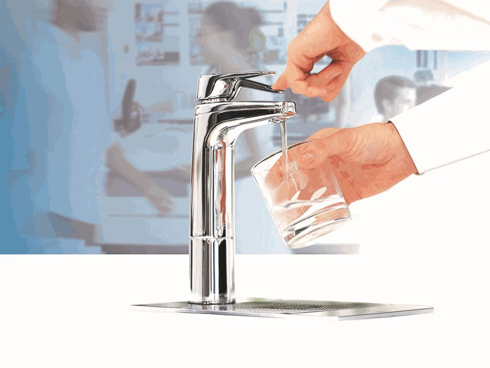 Detailed product image of filtered water drinking system
