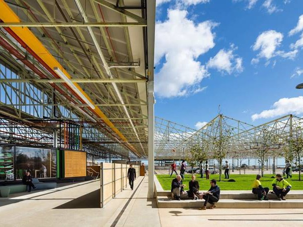 The Woods Bagot adaptive reuse project, Tonsley Main Assembly Building (MAB), will be one of 14 to be showcased in the Australian Pavilion at this year's Venice Biennale Architettura 2018. Image: Supplied