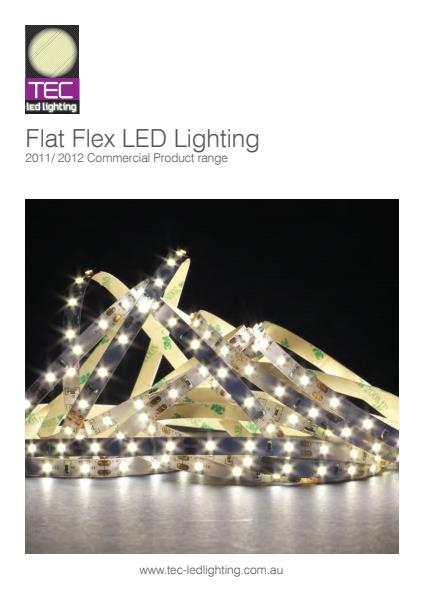 Flat Flex LED Strip Lighting
