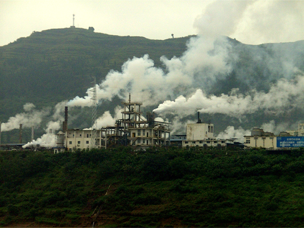 Chinese factory environmental impact