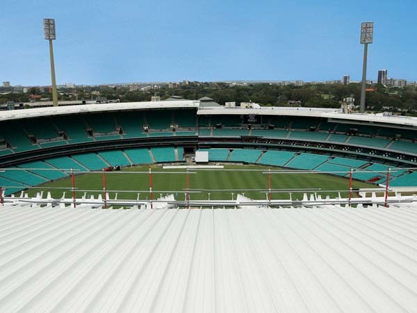 Freeform steel roofing was specified at the Sydney Cricket Ground
