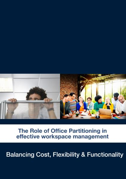 The Role of Office Partitioning in effective workspace management