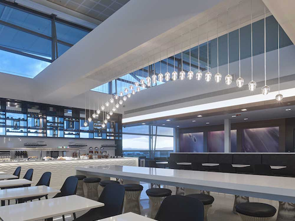 The new Air New Zealand lounge