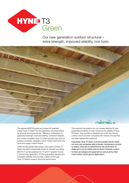 Hyne T3 Green Brochure