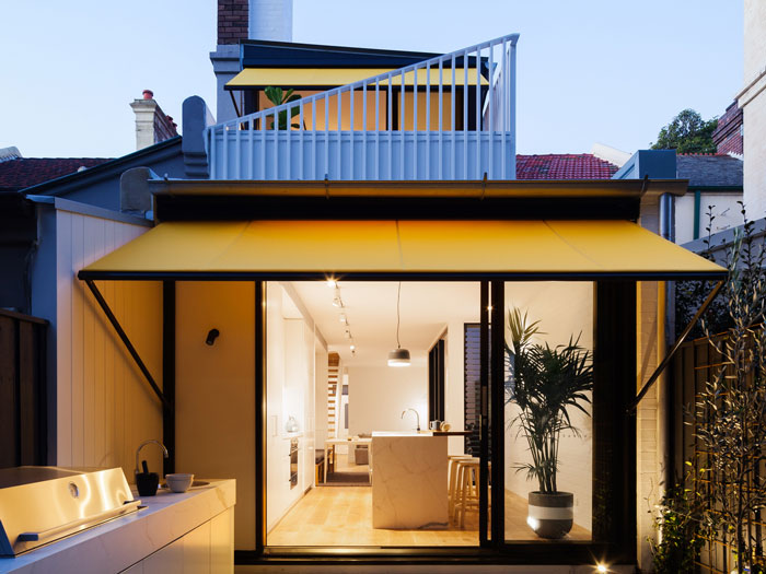 Celebrating Surry Hills in a Victorian terrace renovation