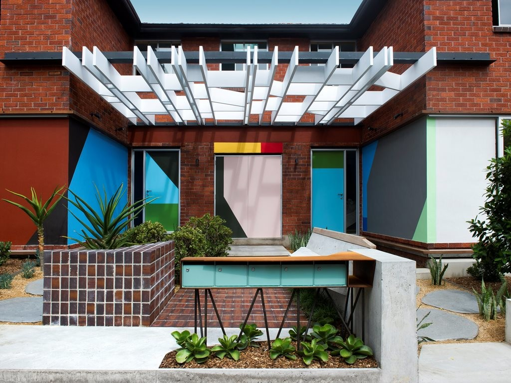 Upcycling history: Polychrome by David Boyle Architect