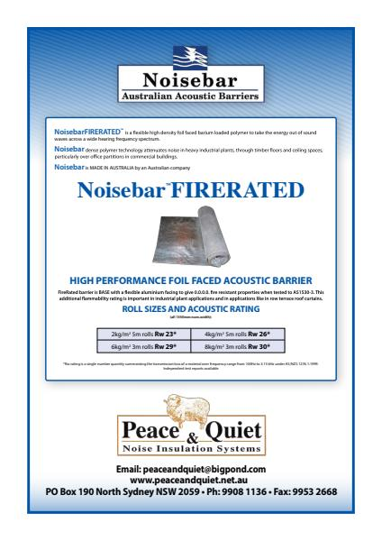 Noisebar Fire-rated