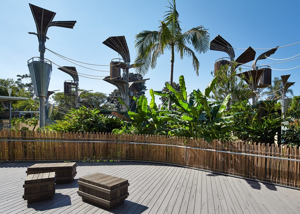 Perth Zoo Orang-utan Exhibit- Jungle School by iredale pedersen hook architects