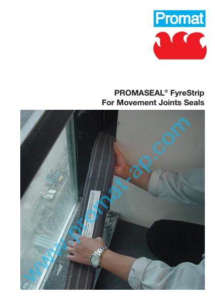 PromaSeal Fyrestrip flyer