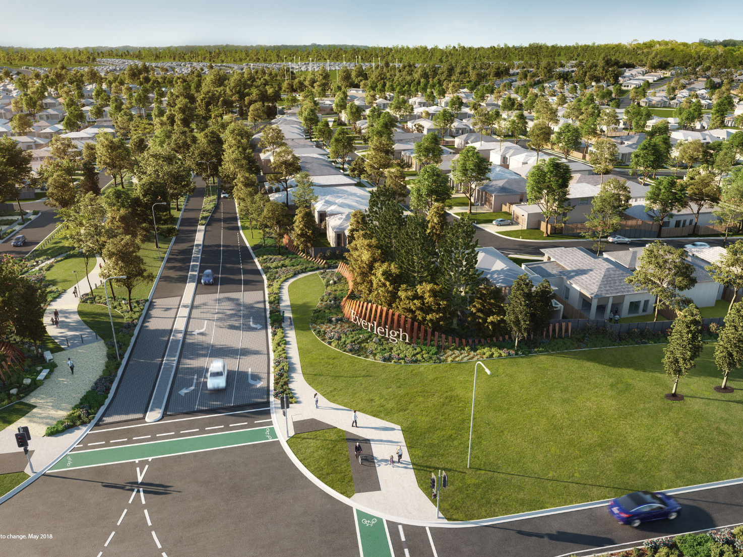 Mirvac has opened a new $5.1 million parkland to the public as part of its Everleigh masterplanned community in Greenbank, located on the Eva Creek in central Queensland, a distance of about 1380km northwest from Brisbane. Image: Supplied.