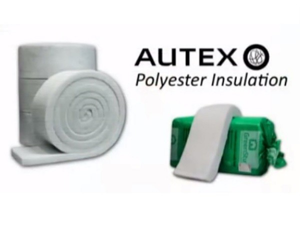 Autex polyester insulation