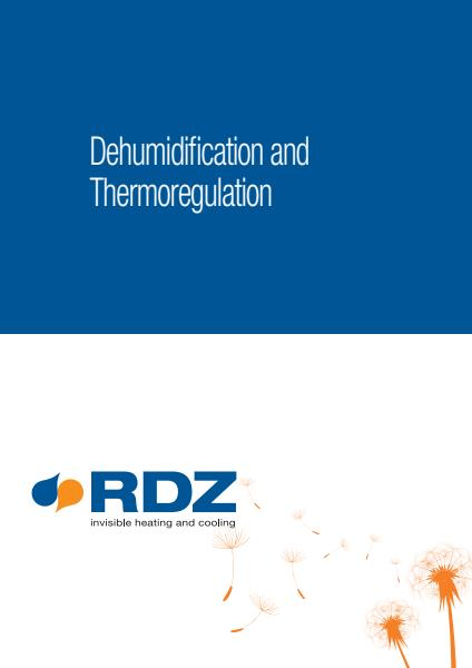 RDZ Aus Dehumid Thermoreg Brochure