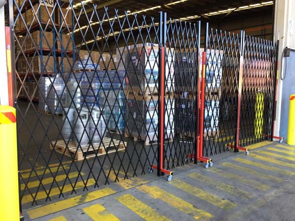 ATDC's expandable fencing at Seaway Logistics' bonded warehouse in Port Botany, Sydney