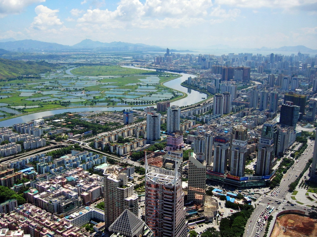 Xiong'an represents Xi Jinping's plan to outdo even the extraordinary rise of Shenzhen (above) from small market town to mega-city in just a few decades. Image: Wikimedia Commons