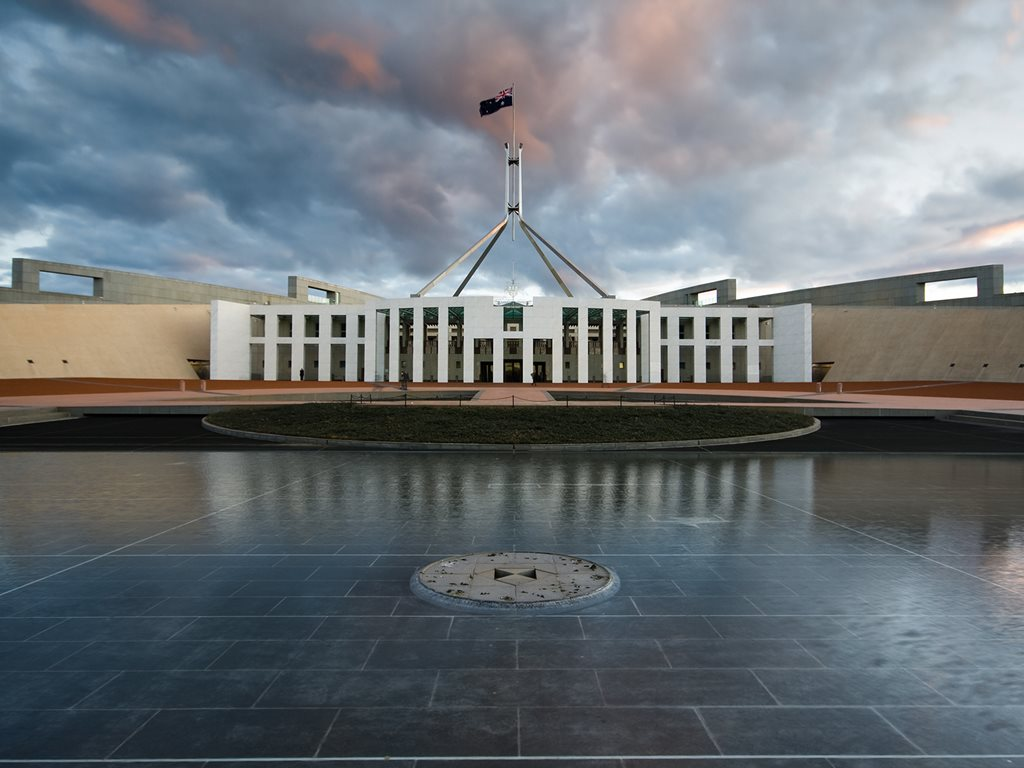 Parliament House is a citadel — the practices and representations of democracy have been segregated from the community. Image: Wikimedia Commons