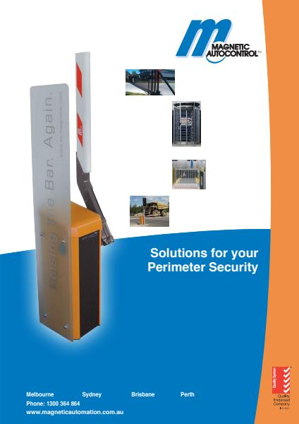 Perimeter Security from Magnetic Automation