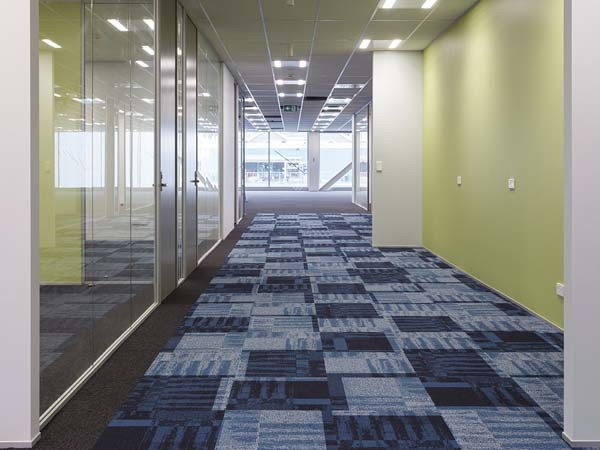 Ontera carpet tiles (Photographer Hicam)